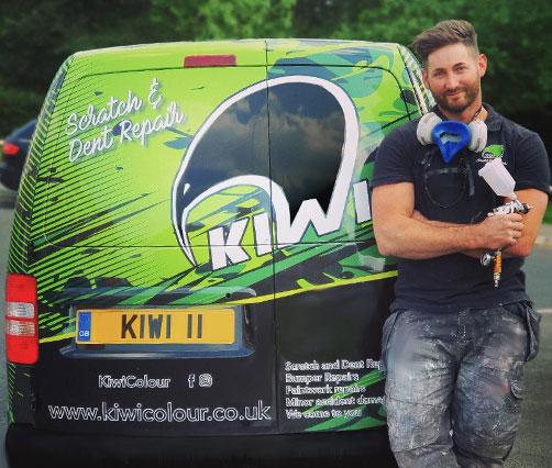 Kiwi Colour Mobile Car Body Repairs